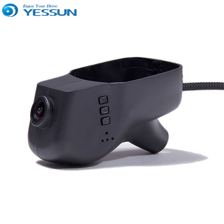 For VW Touareg 2011-2016 / Car DVR Mini Wifi Camera Driving Video Recorder / Novatek 96658 Registrator Dash Cam Original Style junsun car dvr camera video recorder wifi app manipulation full hd 1080p novatek 96655 imx 322 dash cam registrator black box
