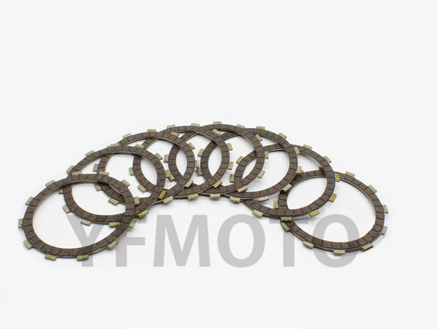 8 Pcs Motorcycle Clutch Friction Plates Kit For Ya maha YZF R1  YZF-R1 2004-2008 05 06 07