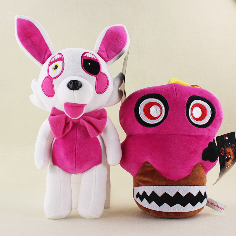 Five Nights at Freddy s Midnight Harem Plush Toy Doll 37cm FNAF Foxy Mangle Chica Cupcake