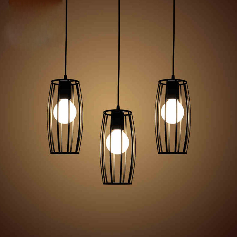 Creative Retro Iron Restaurant Pendant Lamp Simple & Modern Style Art Loft Light Aisle Lamp Dining Light Cafe Lamp Free Shipping loft vintage edison glass light ceiling lamp cafe dining bar club aisle t300