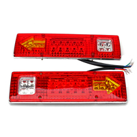 ITimo 1 Pair Car Brake Lamps Turn Signal Lights Universal Super Bright 38 SMD LED 12V