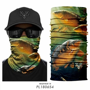 Outdoor Fishing scarfs Carp Bandanas Cycling Scarfs Bandanas Ciclismo Fish Camo Man Face Mask Headwear Headband Neck Warmer men