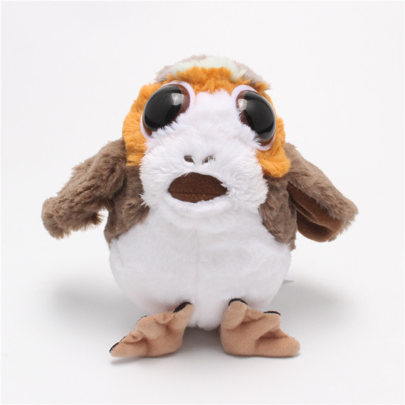 Star Wars 8 Toy Porg Bird Plush Toys Animal Dolls Kids Gifts Birthday Star Wars Fans Collection Toys