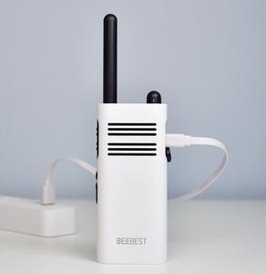 Image 5 - XIAOMI Mijia BeeBest A208 Handheld Walkie Talkies Blue 3350mAh 5W 1 5KM Two Way Radio for Outdoor Indoor Building Security