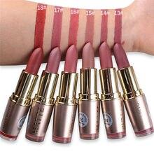 MISS ROSE – rouge à lèvres mat, 6 couleurs, Waterproof, velours, Sexy, rouge, marron, Pigments de maquillage, mat, beauté des lèvres, #290733
