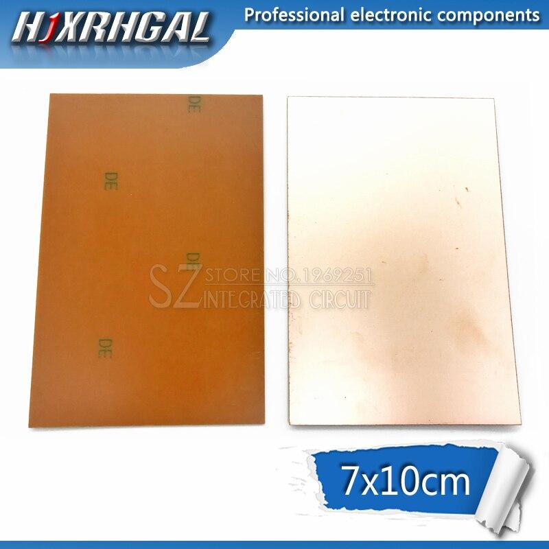 Trustful 5pcs Fr4 Pcb 7x10cm 7*10 Single Side Copper Clad Plate Diy Pcb Kit Laminate Circuit Board Hjxrhgal Modern Design