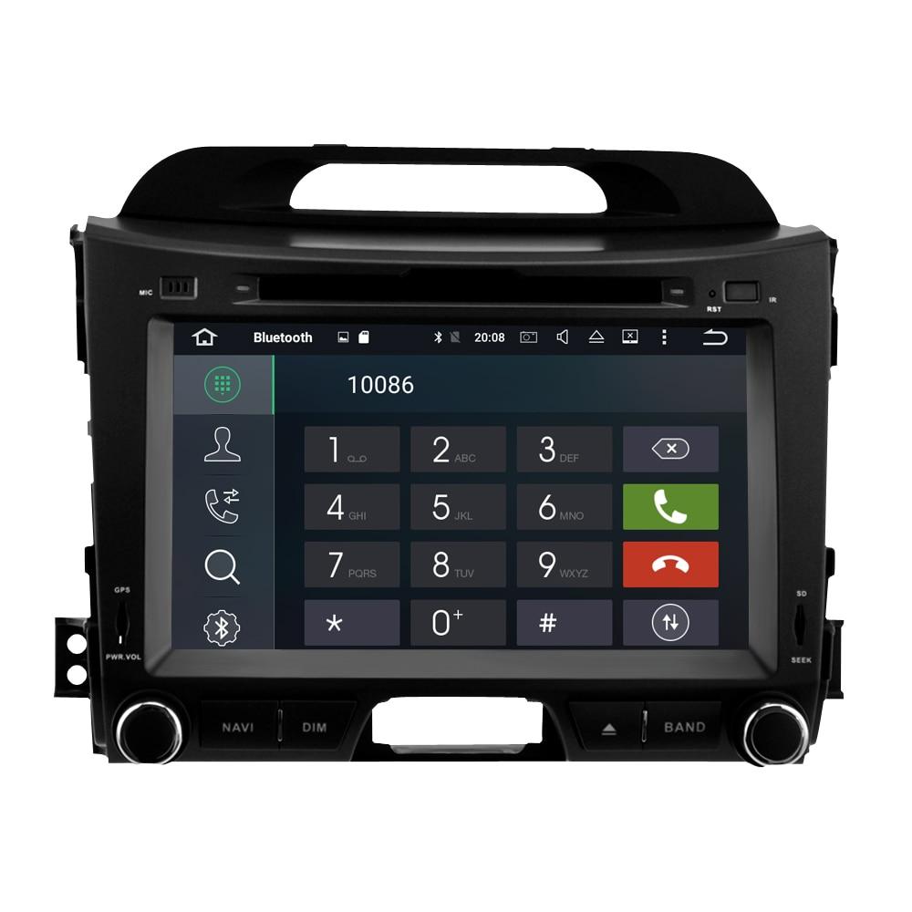 Image 3 - 4G ram ips экран Android 9,0 автомобильный стерео для Kia Sportage 2009 2015 автомобильный DVD плеер Автомобильный FM Мультимедиа вайфай gps навигация-in Мультимедиаплеер для авто from Автомобили и мотоциклы