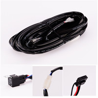 IZTOSS switch fir for Off Road ATV/Jeep LED Light Bar Wiring Harness - 40 Amp Relay ON/OFF Switch