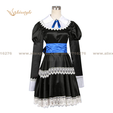 Kisstyle Fashion Panty & Stocking with Garterbelt Panty Black Dress Uniform COS Clothing Cosplay Costume,Customized Accepted