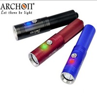 ARCHON V10S CREE XM L U2 860lm 3 Mode LED Diving Flashlight (1x18650)