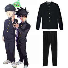 Anime Mob Psycho 100 Cosplay Kostuum Kageyama Shigeo Zwart Uniform Broek Unisex Gakuran Suits Mobu Saiko Hyaku(China)