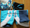 Free Shipping Dramatical Murder DMMD Aoba Seragaki Foot Shoes Cover+Glove Cosplay Costume