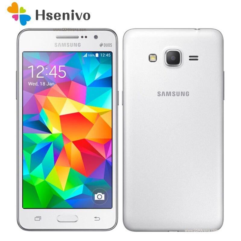100% Débloqué D'origine Samsung Galaxy Grand Prime G530F 4g LTE Téléphone Portable Ouad Noyau un carte Sim 1 gb RAM 5.0 pouce Écran Tactile