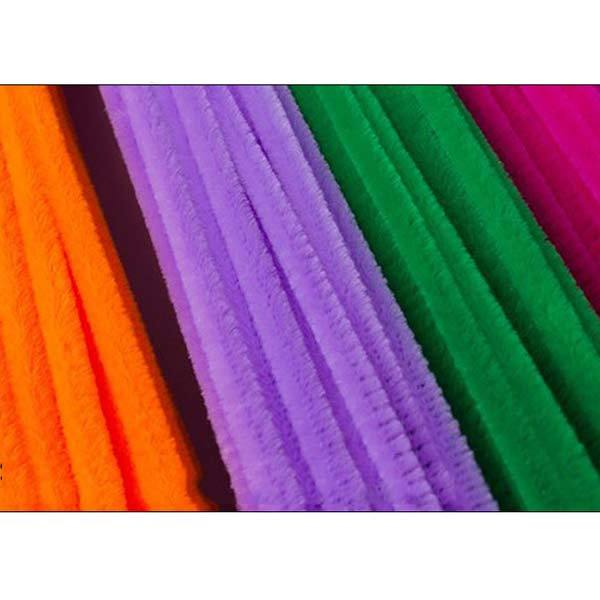 100PCS Chenille Stems Colorful Sticks Kids Toy Kindergarten DIY Handcraft Material Creative Kids Educational Toys 88 BM8 3
