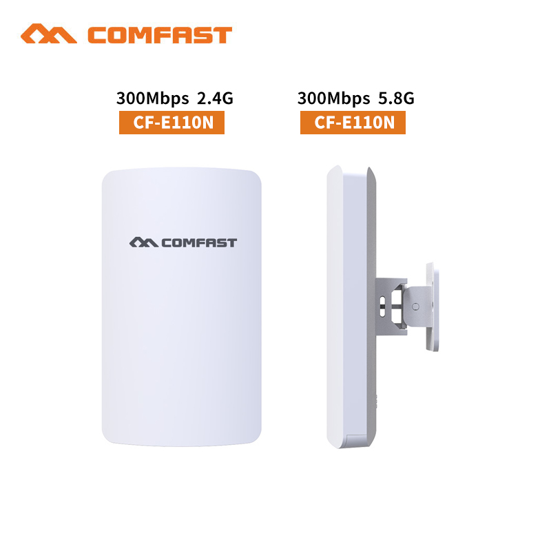 COMFAST outdoor wireless mini cpe 300Mbps Wireless bridge ap wi fi Router Repitidor Signal Expander Amplifier support IP camera