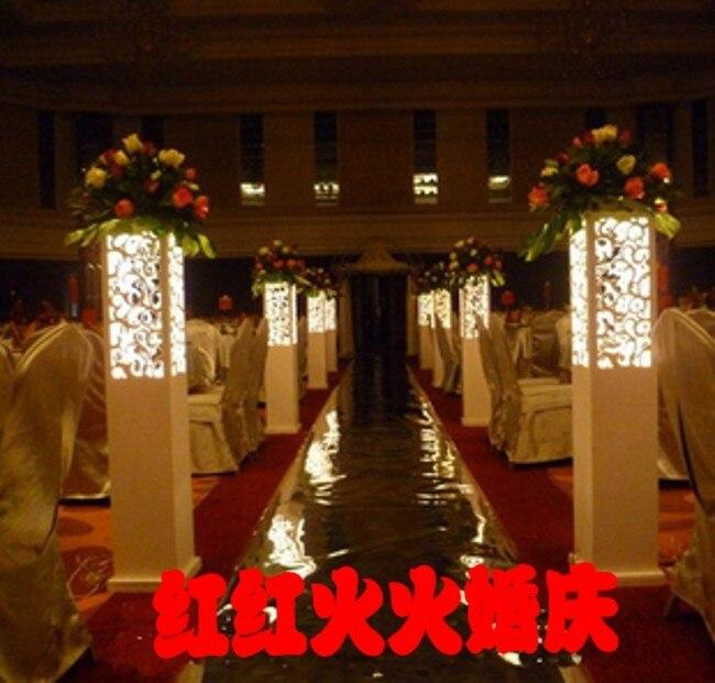 Aliexpress.com : Buy Wedding Pillar Road Leads Wedding