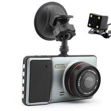 New Top Grade Mini Car font b Camera b font 1296P Dual Lens Parking Car DVR