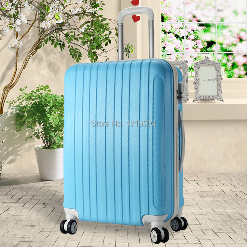 Female lovely travel luggage bag,cheap trolley luggage suitcase ...