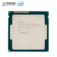 Intel Xeon E3 1265L V3 Desktop Processor E3 1265L V3 Quad Core 2.5GHz 8MB L3 Cache LGA 1150 Server Used CPU