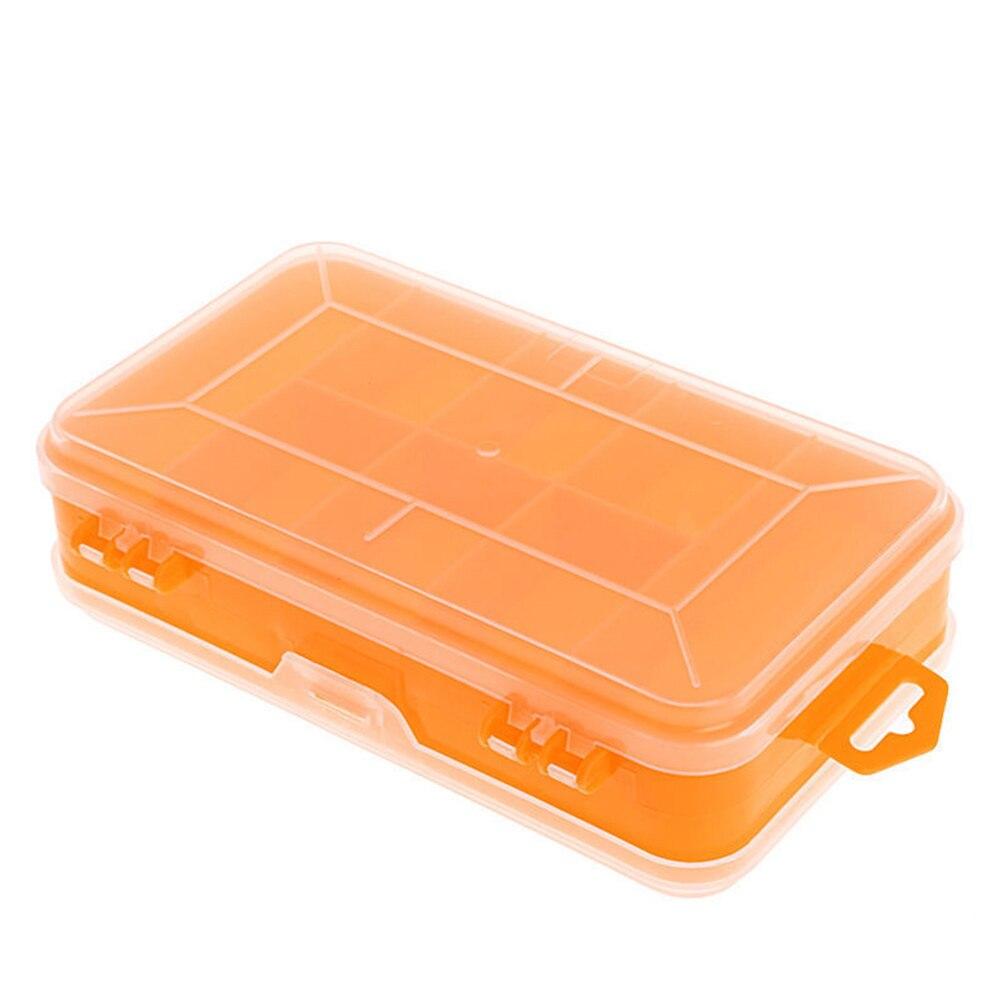 Werkzeugkästen Werkzeuge GemäßIgt Tragbare Schrauben Lagerung Box Transparent Doppel-seite Multifunktions Lagerung Fall Kunststoff Haushalt Hand Tool Organizer Box #1110