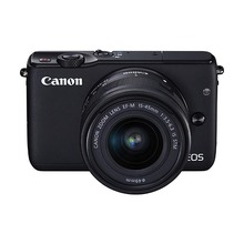 Used,Canon EOS M10 Mirrorless Camera Kit with EF-M 15-45mm I