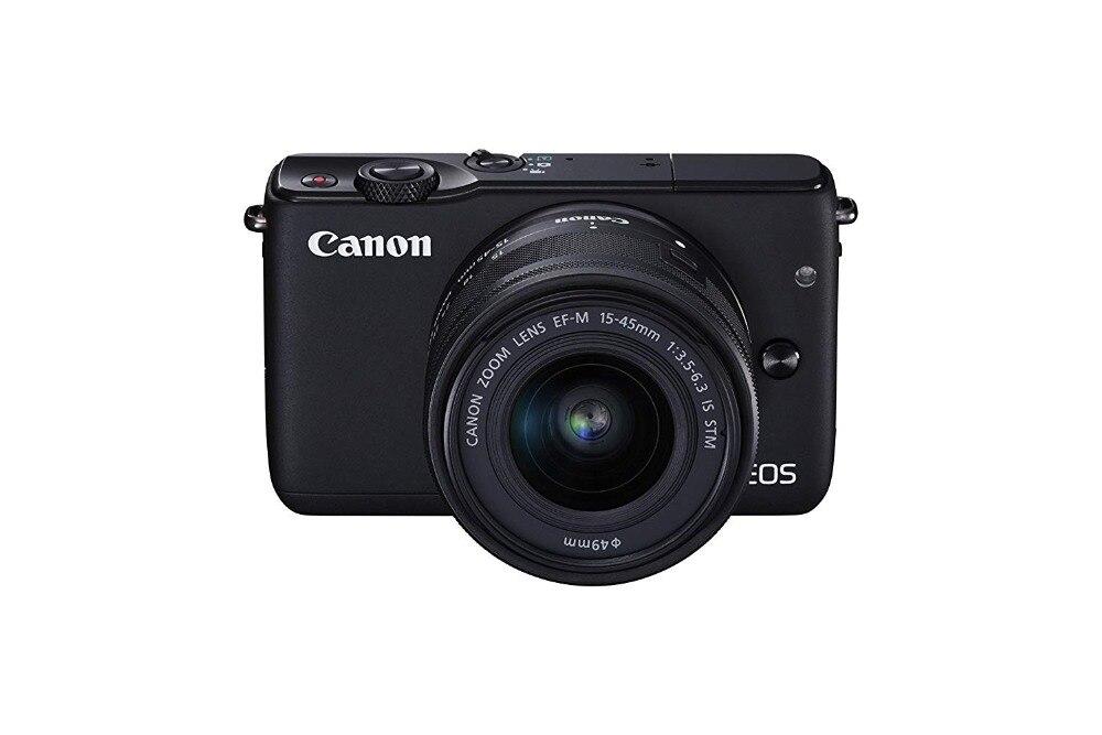 Utilisé, Canon EOS M10 Kit appareil photo sans miroir avec EF-M 15-45mm Kit de stabilisation d'image STM (pas complet neuf)