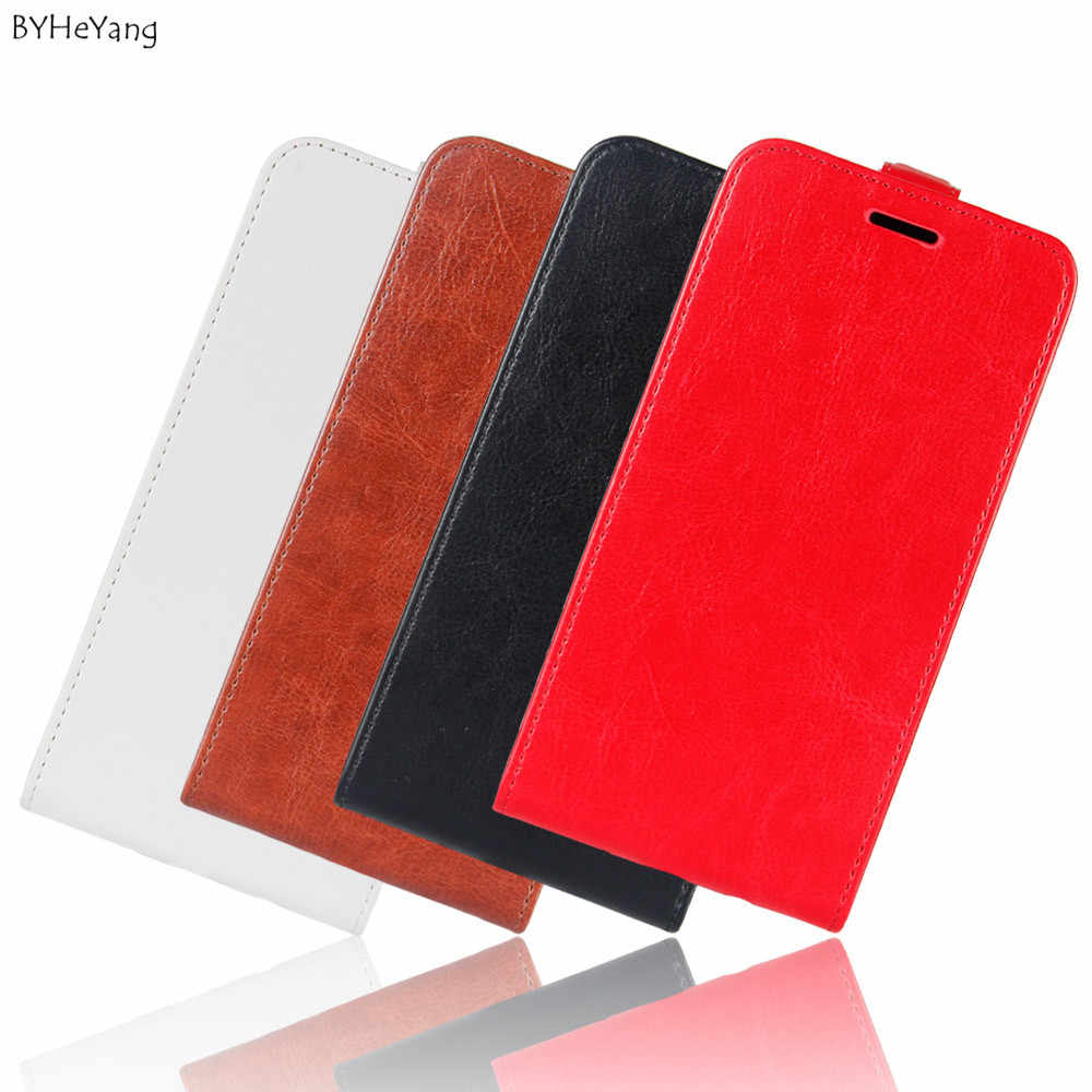 BYHeYang Telefoon Shell voor Motorola Moto E5 Case Cover Luxe Wallet PU Leather Card Slot Flip Case Voor Coque Moto g6 Play Cover