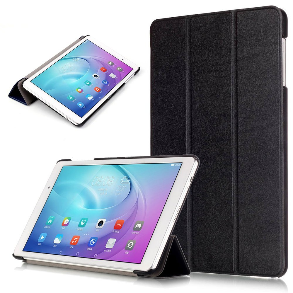 For Huawei MediaPad T3 10 9.6 AGS-W09/AGS-L09 Case Cover Slim Flip PU Smart Stand Case for Honor Play Pad 2 9.6 Tablet Funda mediapad m3 lite 8 0 skin ultra slim cartoon stand pu leather case cover for huawei mediapad m3 lite 8 0 cpn w09 cpn al00 8