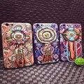 Новый Ретро Национальный винтаж 3D тиснением жемчужина кисточкой телефон дело для iphone6 6 s 6 плюс для iphone7 7 плюс 4.7 5.5 дюймов крышка случае