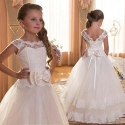 Crianças vestidos para meninas vestido de casamento elegante princesa vestido crianças noite vestido de festa para meninas traje 6 7 8 9 10 11 12 ano