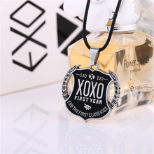ORP Hot sale Band around the jewelry Korean combination EXO combination XOXO logo necklace pendant accessories wholesale