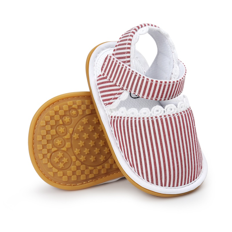 New Summer Newnorn Kids Cute Vintage Hollow Out Style Baby Breathable Non-slip Soft Bottom Cack Shoes