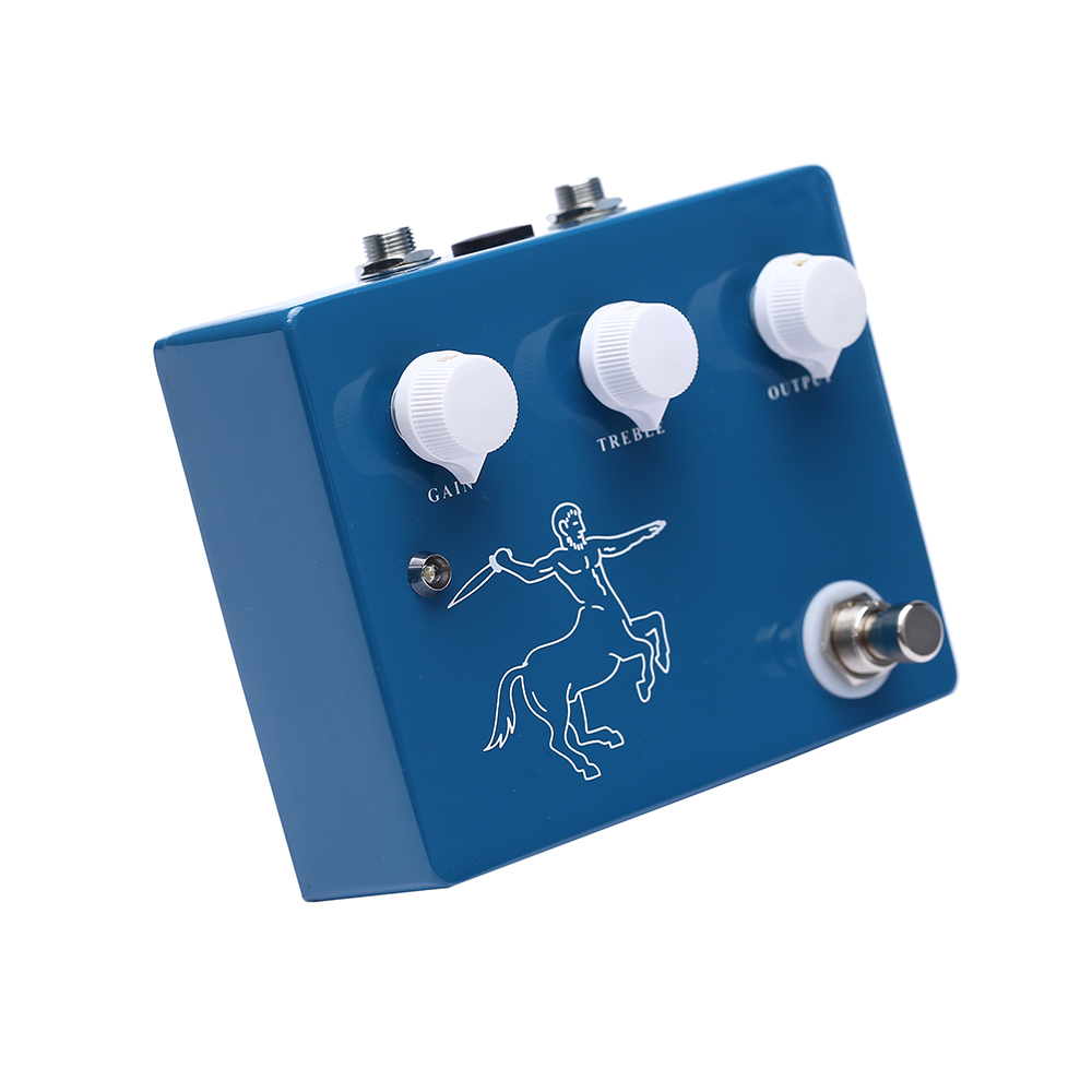 Купить с кэшбэком Three Color Hand Made Klon Effect Pedal Ture Bypass Overdrive Pedal DC 9V Factory Direct Sale Effect For Guitar