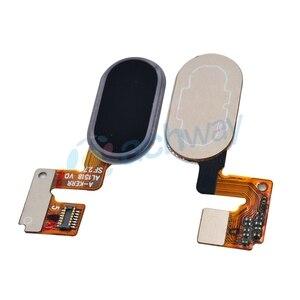 Image 4 - Meizu M3 Note L681H bouton daccueil capteur dempreintes digitales clé câble flexible ruban pièces de rechange Meizu L681H bouton 14 broches
