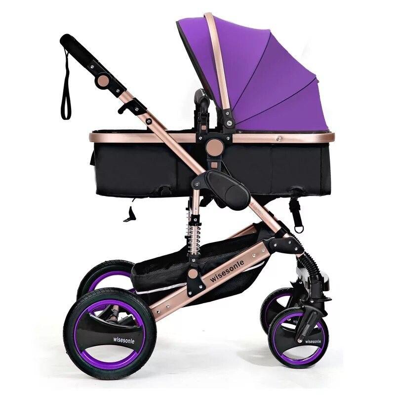 Baby Stroller 2 in 1 Stroller ტყუის ან - ბავშვთა საქმიანობა და აქსესუარები - ფოტო 3