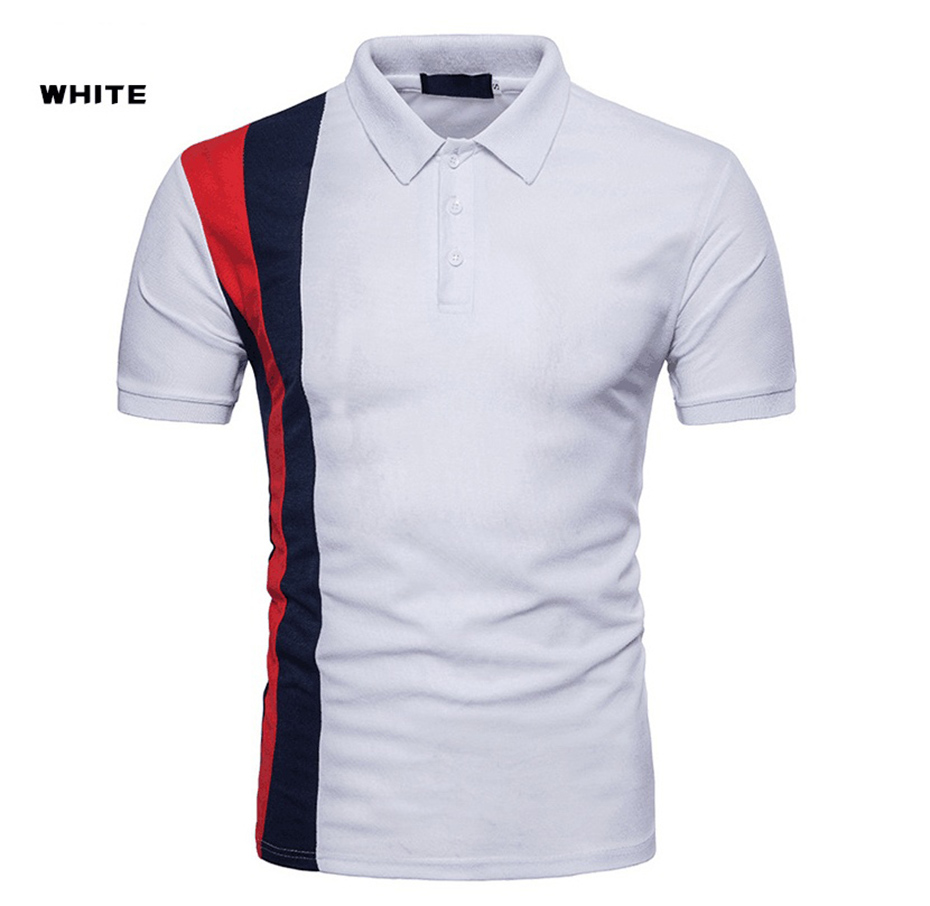Zogaa 2018 mens   polo   shirts short sleeve Casual young fashion Solid Color slim fit Brand Anti-shrink men   Polos   shirts male