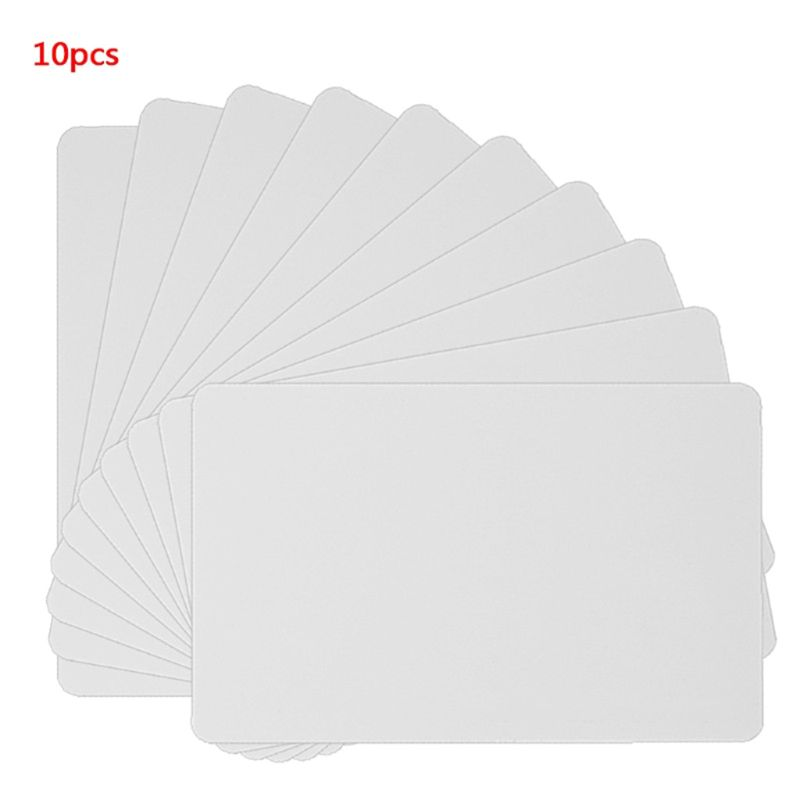 Newest 10PCS NFC NTAG215 White Card For TagMo Tags Chip Stickers Tag Lable Forum Type2 Sticker For NFC Enabled Devices