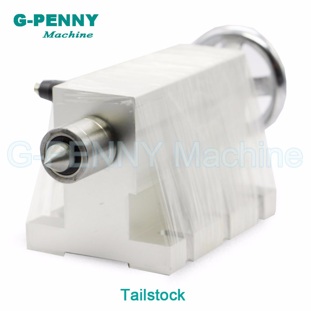 CNC tailstock for rotary axis,A axis,4th axis, cnc router machine 50mm engraving milling cnc activity tailstock chuck 50mm for rotary axis a axis 4th axis cnc router engraver milling machine