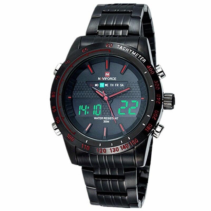 NAVIFORCE herenhorloges topmerk luxe casual quartz horloge mannen - Herenhorloges - Foto 5