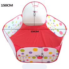 Funny gadgets Eco-Friendly Ocean Ball tent pool Wave Ball kids Baby Funny Toys air ball (balls no include ) fun house sports
