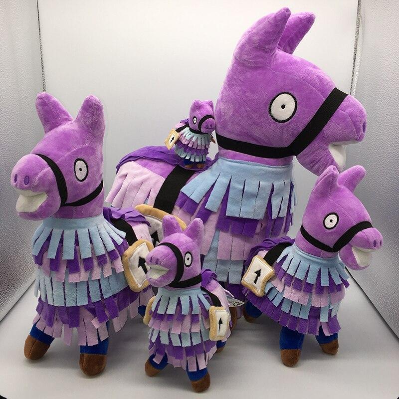 fortnited battle royale games fortnight llama plush keychain fornite alpaca toys for children action figure fortnit kid present