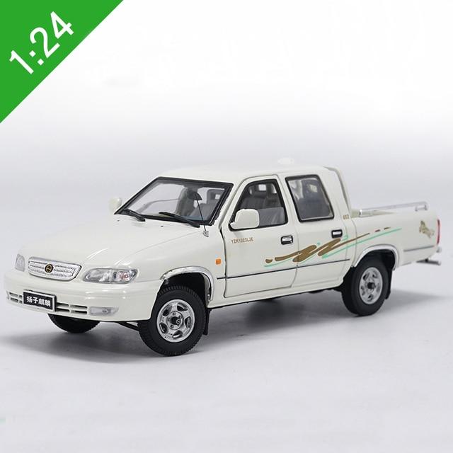 1:24 Skala kirin Yangzi Pickup Truck Diecast Model Mobil Logam Mainan Mobil Hadiah Untuk Anak-anak Kotak Asli