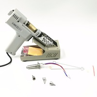 110V 220V Desoldering Gun Electric Absorb Gun S 993A Electric Vacuum Desoldering Pump Solder Sucker Gun