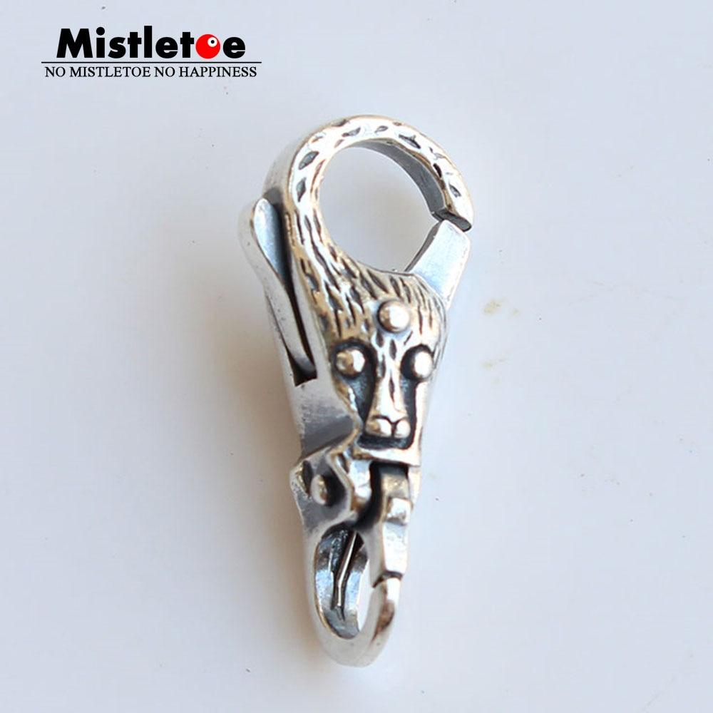 Mistletoe Genuine 925 Sterling Silver Troll Tree Lock Lobster Clasp Fit European Troll Bracelet Jewelry футболка print bar troll