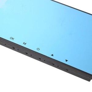 Image 4 - 1080P Full HD bleu miroir 120 degrés grand Angle 500w Pixel enregistreur de conduite enregistreur vidéo numérique moniteur Vision nocturne caméra