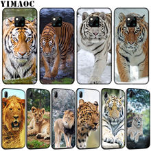 YIMAOC tiger lion leopard African steppe Soft Silicone Phone Case for Huawei Nova 4 3 3i 2i Cover for Huawei Mate 20 10 Pro Lite(China)