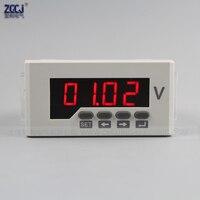 Цифровой дисплей постоянного тока 0-120 в измеритель напряжения постоянного тока с функцией связи RS485 Modbus-RTU протокол 120 В измеритель напряжен...