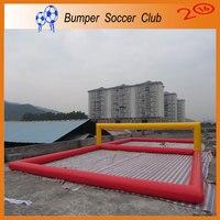 Бесплатная доставка и насос! Скачать inflables надувные Водные виды спорта игры, надувные Волейбол поле для взрослых пляжные Волейбол суд