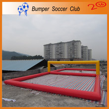 Free shipping&pump! juegos inflables Inflatable Water Sports Games Inflatable Volleyball Field For Adult  Beach Volleyball Court
