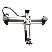 320x220mm mini XY plotter 2 Axis Desktop Drawing Pen USB DIY Writting Robot Machine